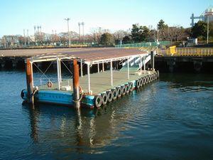 晴海埠頭のバス乗り場