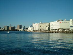 月島(豊海)埠頭です