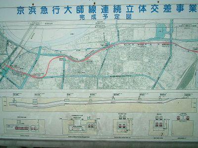 京浜急行大師線 連続立体交差事業