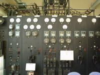 変電所の運転盤