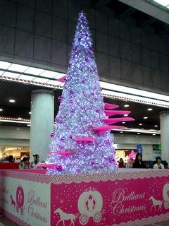 アゼリアのクリスマスツリー