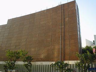 覆い隠された西口ビル